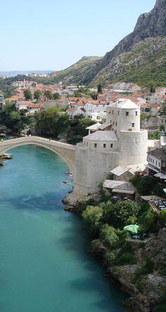 #4 is Mostar, Bosnia. 10 Bucket List Destinations You've Never Heard Of!