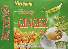Nirwana Honey Ginger Tea