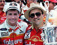 Jack Roush and Mark Martin First NASCAR Win