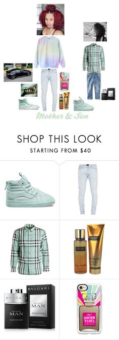 """🤗😝🤤 Mother & Son 🤠👍🏾🙌🏾"" by papityyyyyy ❤ liked on Polyvore featuring Fear of God, Burberry, Victoria's Secret, Bulgari, Aston Martin and Casetify"