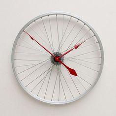 Relógio de Aro de Bicicleta - Guia de Casa