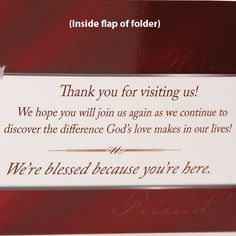 30 best welcoming ministry images on pinterest church foyer church visitors welcome pocket folder brochure holder cta inc church foyer church office m4hsunfo