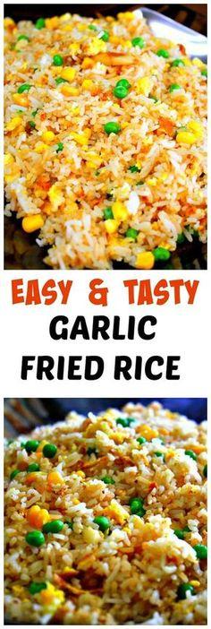 Japanese garlic fried rice recipe garlic fried rice leftover how to make garlic fried rice ccuart Images