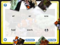 Your child can learn 300 sight word through puzzles. $1.99 to download Word Puzzles: Kids Learn Sight Words Game app from iTunes!