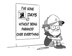 """Me after Ford showed Dipper the inter-dimensional rift>>>I was just sitting there like """"oh snap."""" """"Bill gon come outta dat"""">>>more proof of the upcoming fight between Dipper and Mabel when ford told Dipper to not tell anyone, not even Mabel.>>>I can feel the feels in the air>>>Weirdmageddon! Awesome paranoia guys!!!!"""
