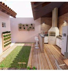 Exterior home modern patio 25 trendy ideas Backyard Garden Design, Modern Backyard, Diy Garden Decor, Backyard Patio, Outdoor Living, Outdoor Decor, Home Decor Furniture, Interior Design Living Room, Exterior Design