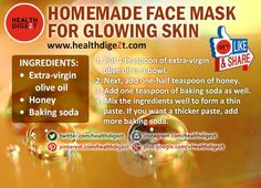 DIY Face Mask for Glowing Skin | health and Beauty 4Ever
