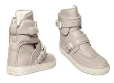 Givenchy Buckled High-top Sneakers $606
