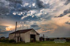 Cloud Photography, Barn Art, Barn Print, Hay Photography, Storm Clouds, Oklahoma Fine Art, Landscape Photo, Nature Sky, Farm Art, August