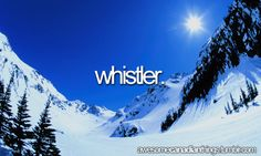 Best Spring Skiing Places – Whistler Blackcomb, British Columbia, Les Menuires, French Alps and Colorado Whistler Ski Resort, Cool Places To Visit, Places To Travel, Travel And Tourism, Canada Travel, Vacation Spots, The Great Outdoors, Skiing, Snowboarding