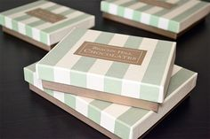 Beacon Hill Chocolates Candy Boxes