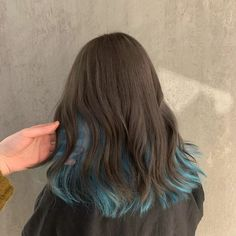 Hair Color Streaks, Hair Dye Colors, Hair Highlights, Hair Inspo, Hair Inspiration, Hidden Hair Color, Hair Color Underneath, Aesthetic Hair, Grunge Hair