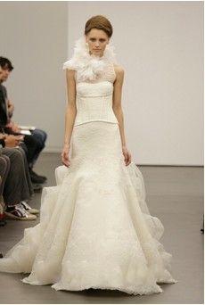 Vera Wang fall wedding dress 2013