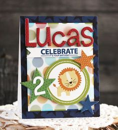 Bella Blvd Tiny Tots and Lucky Stars collections. Celebrate card by creative team member Laurie Schmidlin. It's Your Birthday, Birthday Cards, Boy Cards, Lucky Star, Little Man, Mix Match, Birthday Celebration, Crafts For Kids, Paper Crafts