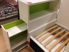Ikea Flaxa Single Bed With Headboard