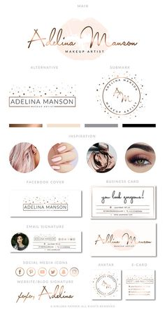Darling, thank you for stopping by AirLunaPaperie ☾ The Premade designs may be the perfect solution for photographers, bloggers, event planners, wedding venues, florists, interior designers, stylists, boutiques, fashion labels, make-up artists and other beautiful businesses. These