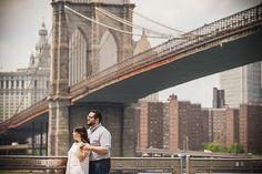 Butler Photography, LLC - Brooklyn Bridge Park engagement photos