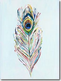 Peacock Feather - SkylineArtEditions.com