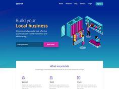 Kapor Landing page