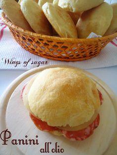 Panini all'olio ricetta bread rolls, recipe