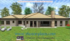Overall Dimensions- x mBathrooms- 3 Car GarageArea- Square meters Tuscan House Plans, Modern House Plans, Modern House Design, Bungalow Style House, Bungalow House Plans, Home Design Floor Plans, Plan Design, Beautiful House Plans, Beautiful Homes