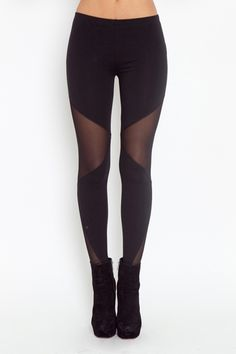 kind of a cool twist on the leggings I usually buy