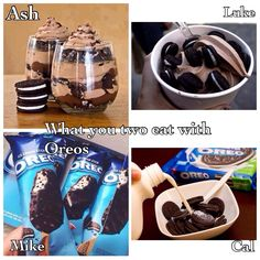 Comment fave 5sos Preferences, 1d Imagines, 5 Seconds Of Summer, Oreo, Bands, Desserts, Food, Tailgate Desserts, Deserts