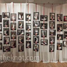 Parede do Lounge - Fotos