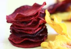 Baked Beet Chips from A Cozy Kitchen - the site has some other ones too. will have to try!