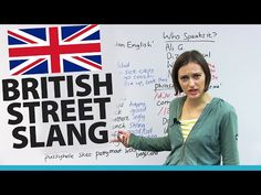 The BEST British Street Slang - YouTube Slang English, English Phrases, English Vocabulary, English Grammar, English Language, British Quotes, British Slang Words, Yorkshire Sayings, English Course