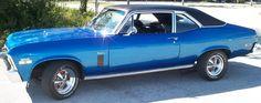 Looks exactly like my big sis's '72 Chevy Nova.