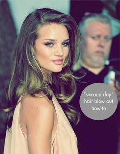 """The perfect tool for """"second day"""" hair from {Stylishly Lived}"""