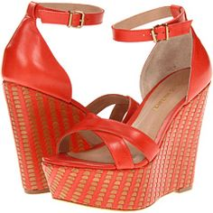 Pour La Victoire - Bonita (Red Multi Vegetal) - Footwear -  Pour La Victoire  Bonita (Red Multi Vegetal)  Footwear 6pm.com is proud to offer the Pour La Victoire  Bonita (Red Multi Vegetal)  Footwear: Youll be one bonita se#241;orita in these stunning sandals! ; Luxurious leather upper. ; Eye-catching criss-cross...