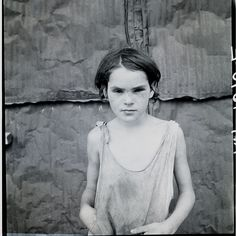 Child living in Oklahoma City shacktown. August, 1936. Dorothea Lange