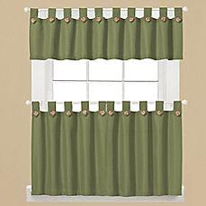 Image Of Westlake Window Curtain Tier Pair In Sage. Green Kitchen ...