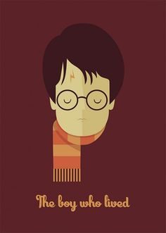 Posters e Ilustrações- The boy who lived (Harry Potter)