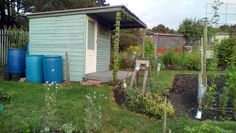 Here is our little tool shed at the end of July 2015:-)