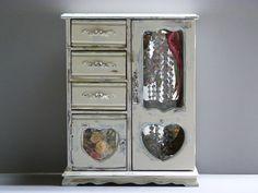 Hand designed wood jewelry box / extra heavy by cgraceandcompany
