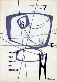 I don't know what this is, but I like it. Wim Crouwel, 1952