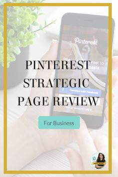 Get a robust, strategic plan created by Pinterest expert Anna Bennett to take your Pinterest marketing to a new level of effectiveness. You receive a detailed report for Pinterest success showing you what you're doing right & wrong and how to instantly boost your Pinterest effectiveness to help you get more sales and traffic! Get it here http://www.whiteglovesocialmedia.com/pinterest-strategic-page-review-+marketing/