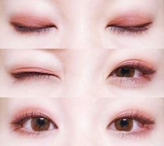 Korean makeup tips, You could reap many beauty plan by using the spa for the ent… - Makeup Tutorial African American Korean Makeup Look, Korean Makeup Tips, Korean Makeup Tutorials, Asian Makeup, Ulzzang Makeup Tutorial, Eye Makeup Art, Red Makeup, Makeup Eyeshadow, Makeup Looks