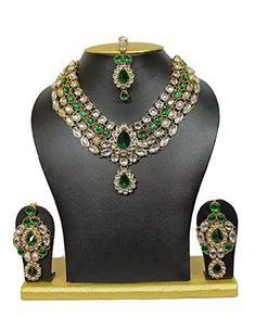 VVS Jewellers Green Stone Gold Plated Ethnic Indian Bolly... https://www.amazon.com/dp/B0794RH9TN/ref=cm_sw_r_pi_dp_U_x_EtLHAbYGV6S97
