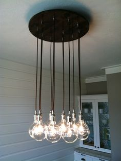 Luminaire de style industriel pour cuisine ou salle à manger