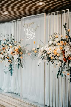 Elegant Beachfront Wedding In Vietnam modern floral decor and wedding backdrop Wedding Backdrop Design, Wedding Stage Decorations, Engagement Decorations, Backdrop Decorations, Ceremony Backdrop, Wedding Backdrops, Wedding Ideas, Wedding Stage Backdrop, Floral Decorations