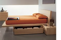 Paul - Beautiful Bed Designs - under bed storage