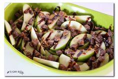 Loaded Apple Nachos Snack Recipe ~ Sugar Bee Crafts