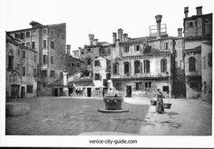 Campo della Maddalena, image of  late nineteenth century #venice #veniceitaly