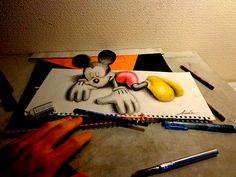Creative 3D Drawings By Nagai Hideyuki