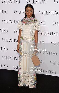 News Photo : Genevieve Jones attends the Valentino Sala Bianca...