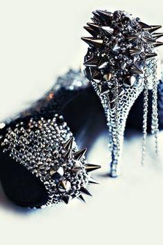 spiked heels!!! <3